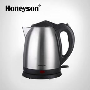 brushed steel kettle