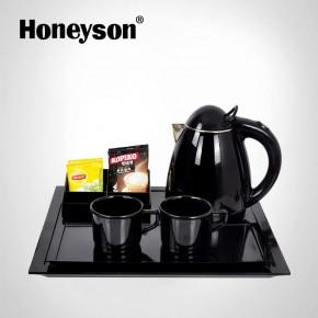 tea pot with tray set