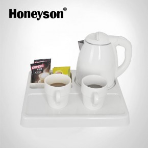 kettle with tray set