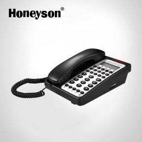 white landline phones
