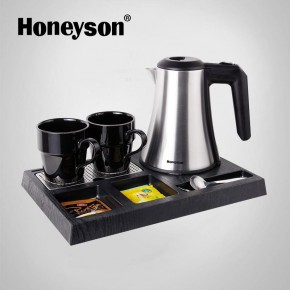 hotel kettle tray set
