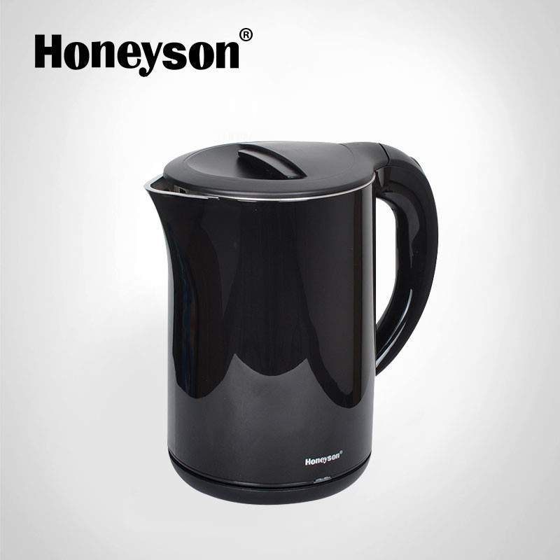 Honeyson Hotel Room Small Electric Hot Water Pot With Tray Set