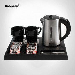 I-H1263 hotel electric kettle tray set