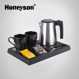I-H1261 hotel electric kettle tray set