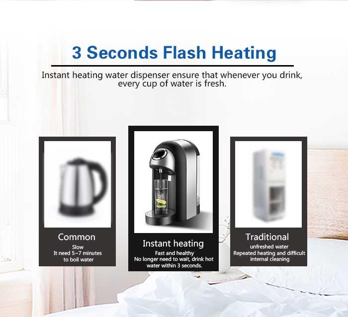 Honeyson best instant hot drinking water boiler dispensers